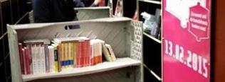 Smart Carts gebruikt door Mondial Van der Velde 't Veentje Verhuizingen voor de verhuizing van Boekhandel Paagman Centrum