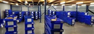 Verhuizing Labor Internationaal door Waaijenberg Verhuizers met archiefboxen van Roldo Rent